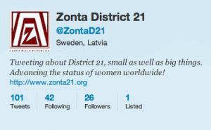 Zonta på Twitter